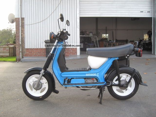 2012 Simson  SR50/1B scooter in the best condition of OSTaSIDE Motorcycle Scooter photo