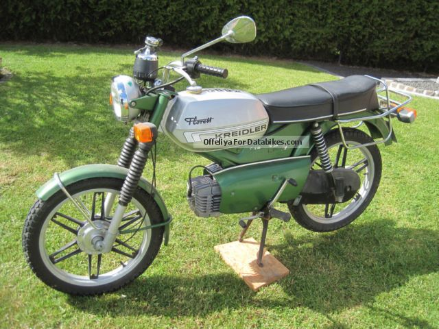 1982 Kreidler  Foil Motorcycle Motor-assisted Bicycle/Small Moped photo