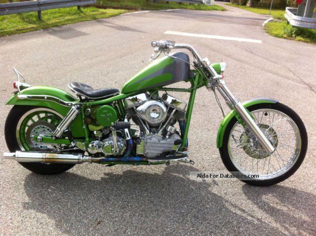 1981 Harley Davidson  Harley-Davidson FXWG pan head Motorcycle Chopper/Cruiser photo