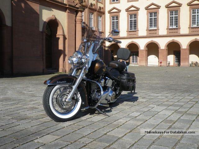 2013 Harley Davidson  Harley-Davidson Heritage Softail 110 years Anniversary Motorcycle Chopper/Cruiser photo