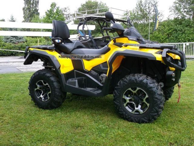 quad kymco 650