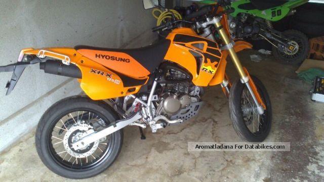 2014 Hyosung  RX 125 SM Motorcycle Super Moto photo
