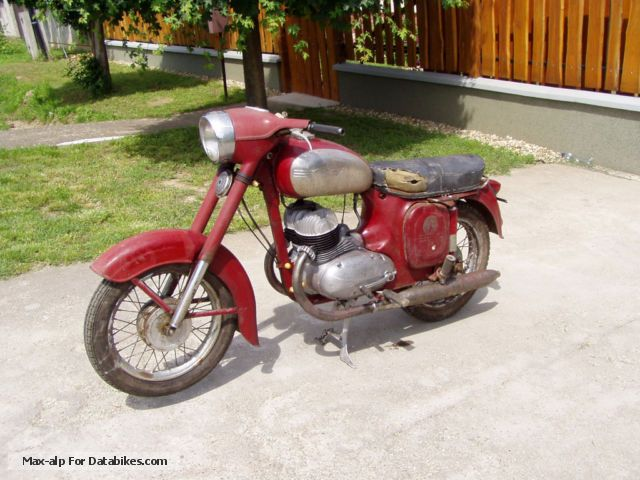 Jawa  360 1966 Vintage, Classic and Old Bikes photo