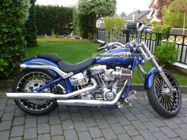 Harley Davidson  Harley-Davidson CVO Breakout 2014er new model in Abyss Blue 2012 Chopper/Cruiser photo
