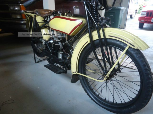 1920 Harley Davidson  Harley-Davidson model W, flat twin boxer sport Motorcycle Motorcycle photo