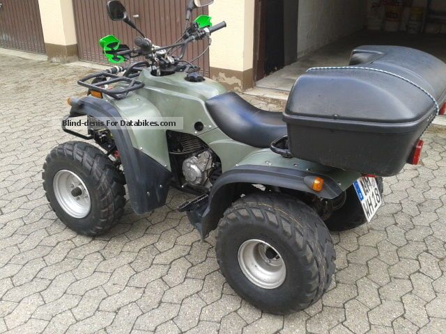 2004 Adly  300 Motorcycle Quad photo