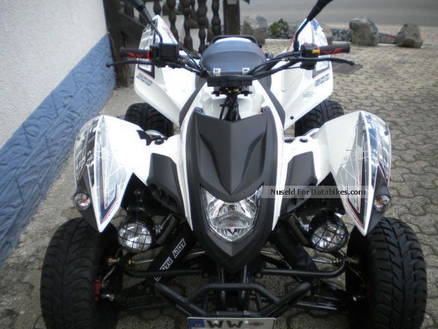 2012 Adly  Hurricane Supermoto Motorcycle Quad photo