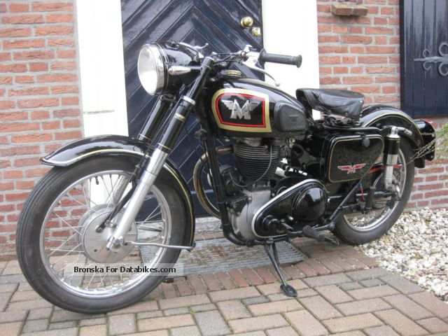 1956 BSA  matchless 500 cc Motorcycle Motorcycle photo