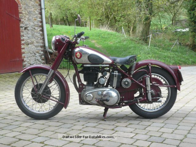 BSA  M 33 1954 Vintage, Classic and Old Bikes photo