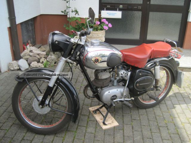 Maico  M 200 S 1955 Vintage, Classic and Old Bikes photo