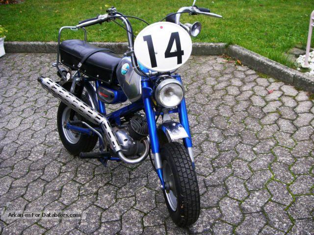1970 Benelli  SS 50 Motorcycle Lightweight Motorcycle/Motorbike photo