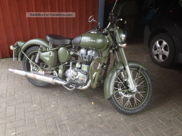 Royal Enfield  classic 500 2014 Naked Bike photo