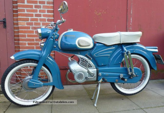 Zundapp  Zündapp KS 50 Falconette unique original condition 1961 Vintage, Classic and Old Bikes photo