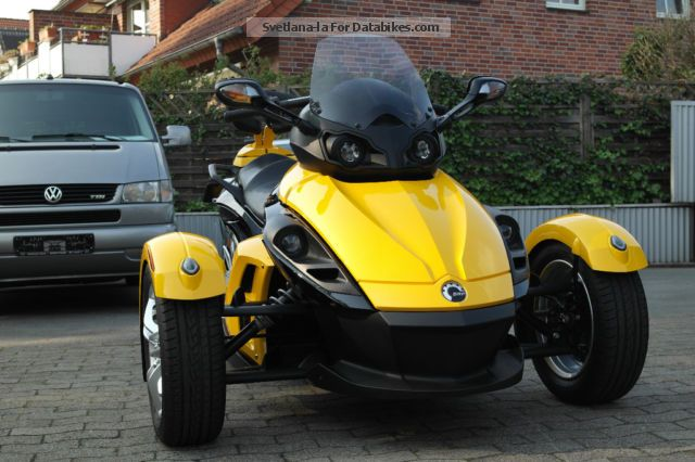 2009 BRP  Can Am Spyder Roadster RS SE5 maintained 2.hand Motorcycle Motorcycle photo