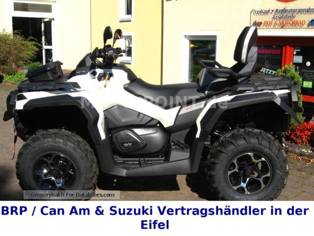 2014 Can Am  Outlander LIMITED 1000, 2014; Incl. LOF, Navi Motorcycle Quad photo