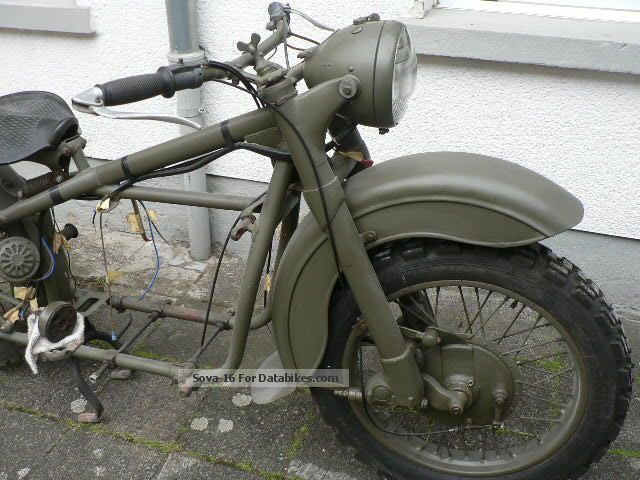 1958 Ural  M72 Motorcycle Combination/Sidecar photo