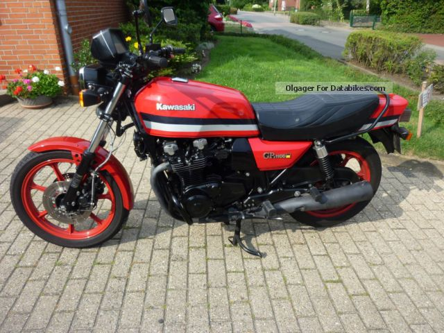 1982 Kawasaki  GPZ1100B1 Motorcycle Motorcycle photo