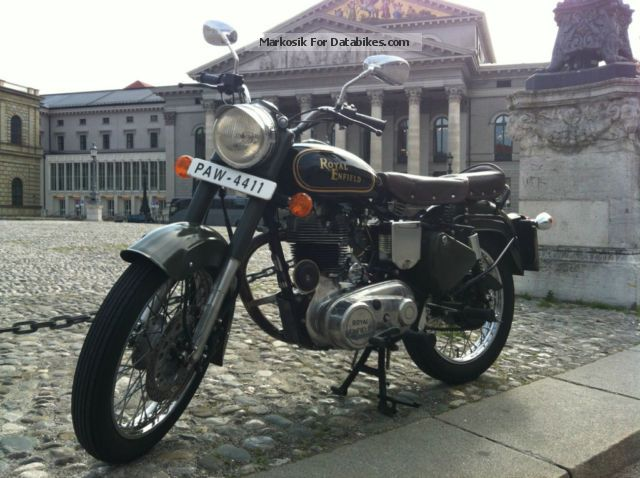Royal Enfield  Bullet 500 1974 Vintage, Classic and Old Bikes photo