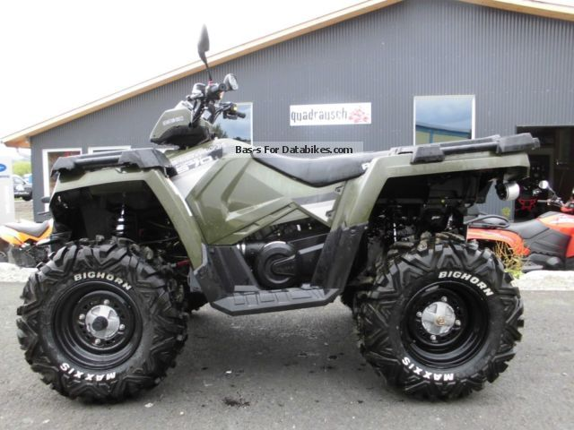 2014 Polaris  570 Forest plant with LOF Motorcycle Quad photo