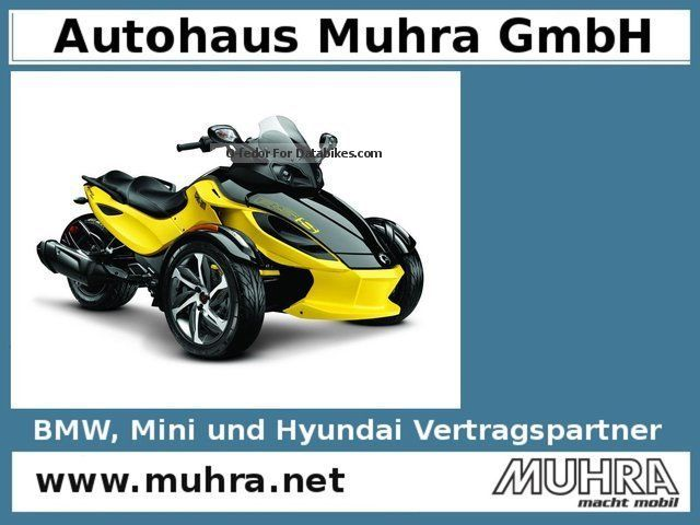 2014 Bombardier  Can Am Spyder RS-S SE5 / Mod.2014 / 2.99% Motorcycle Motorcycle photo