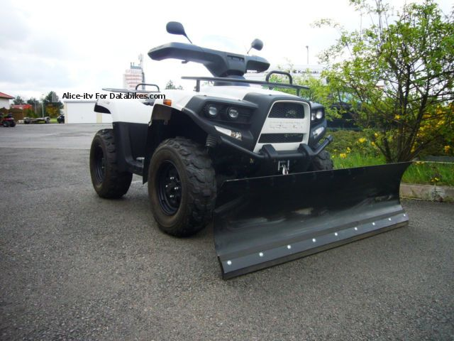 2012 Cectek  Gladiator 500 SNOW SKI LD, WINCH + + + Motorcycle Quad photo