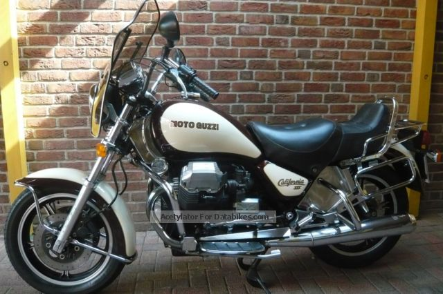 1987 Moto Guzzi  California 3 Motorcycle Chopper/Cruiser photo