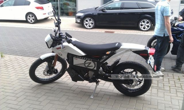 Zero  XU 2012 (such as MX, X), electric, as new! 2012 Electric Motorcycles photo