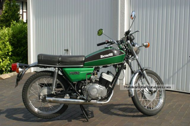 Benelli  125 2c 1974 Vintage, Classic and Old Bikes photo