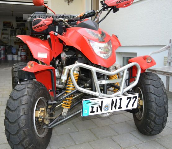 2009 Barossa  300L Motorcycle Quad photo