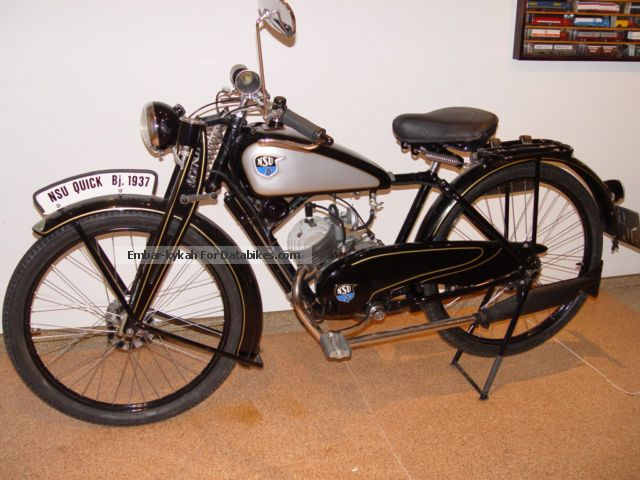 2012 NSU  Quick Oldtimer Motorcycle Lightweight Motorcycle/Motorbike photo