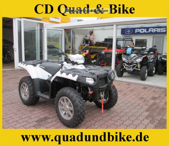 2012 Polaris  Sportsman 850 EFI Forest LOF approval Motorcycle Quad photo