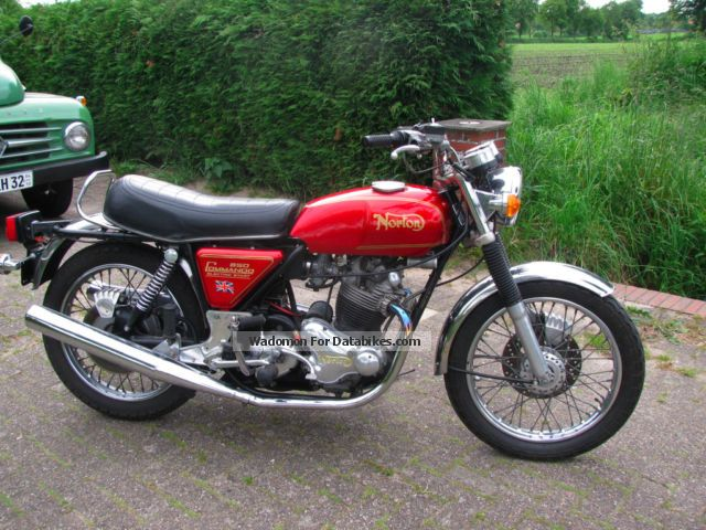 Norton  Commando MK3 1975 Vintage, Classic and Old Bikes photo