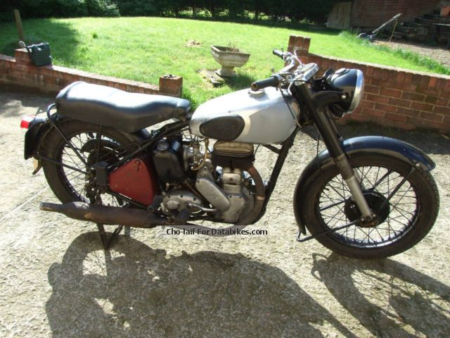 Norton  Big 4 original unrestored 1952 Vintage, Classic and Old Bikes photo