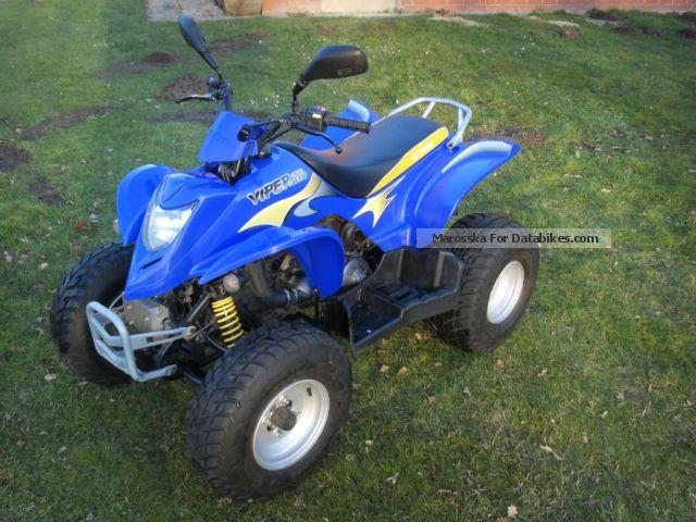 2009 E-Ton  Viper 150 Motorcycle Quad photo