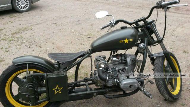 1990 Ural  custom made Motorcycle Chopper/Cruiser photo
