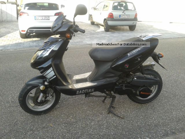 2008 Baotian  BTM 125 Motorcycle Scooter photo