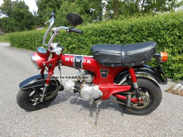Honda  Dax ST 50 G 1973 Vintage, Classic and Old Bikes photo