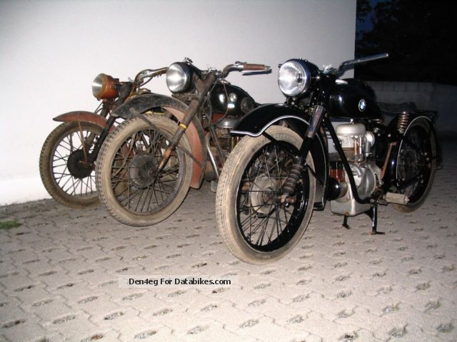 BMW  R23 1939 Vintage, Classic and Old Bikes photo