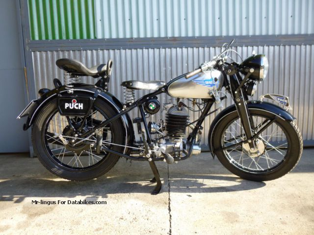 Puch  250 T 3 1938 Vintage, Classic and Old Bikes photo