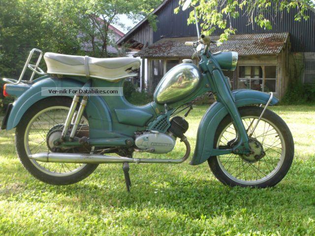 Zundapp  Zündapp Super Combinette 1962 Vintage, Classic and Old Bikes photo