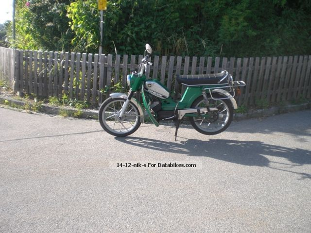 Zundapp  Zündapp ZD 40 moped, scooter 3 speed original non-tinkering 1974 Vintage, Classic and Old Bikes photo