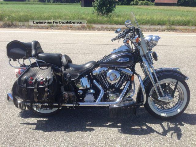 1999 Harley Davidson  Harley-Davidson heritage springer Motorcycle Chopper/Cruiser photo