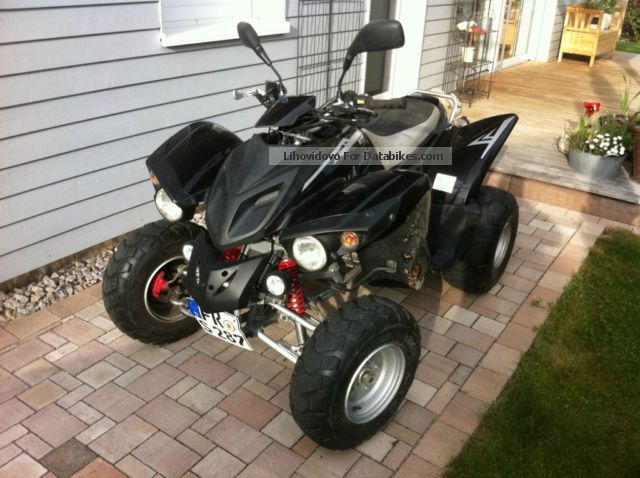 2007 Adly  Sentinel Cross Road 300 Motorcycle Quad photo
