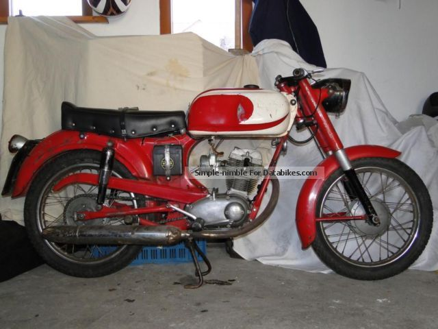 Moto Morini  Monello 125 1963 Vintage, Classic and Old Bikes photo