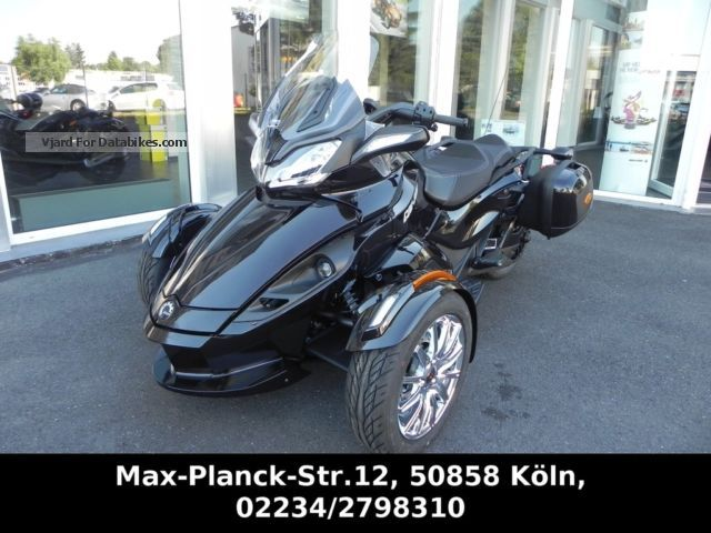 2012 Can Am  ST Limited Motorcycle Trike photo