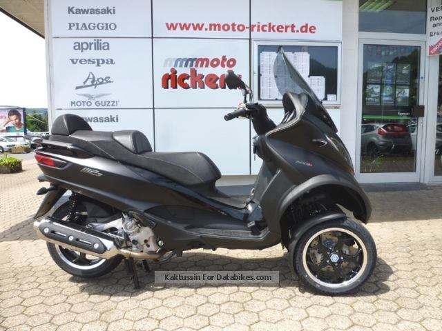 2012 piaggio mp3 500 lt sport abs asr world first. Black Bedroom Furniture Sets. Home Design Ideas