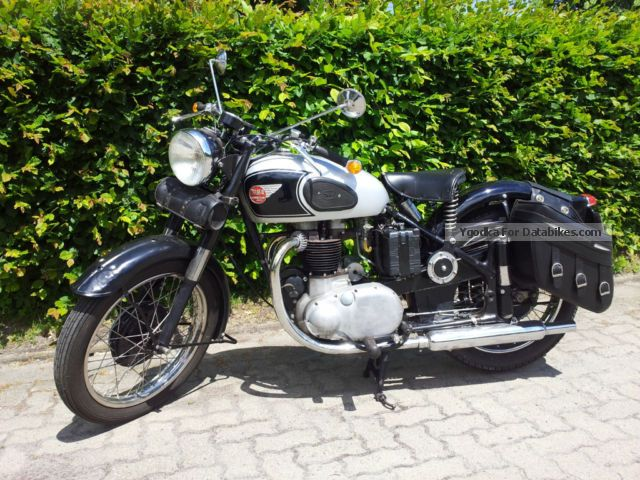 1954 BSA  A10 Motorcycle Motorcycle photo