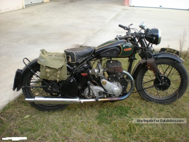 BSA  500 1939 Vintage, Classic and Old Bikes photo