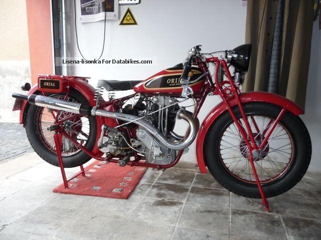 Triumph  Orial SKK 500 Super Sport 1932 Vintage, Classic and Old Bikes photo