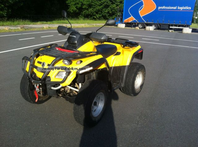 2006 BRP  Outlander XT 800 Motorcycle Quad photo
